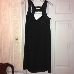 Emilio Pucci Black silk/cotton/elastic dress
